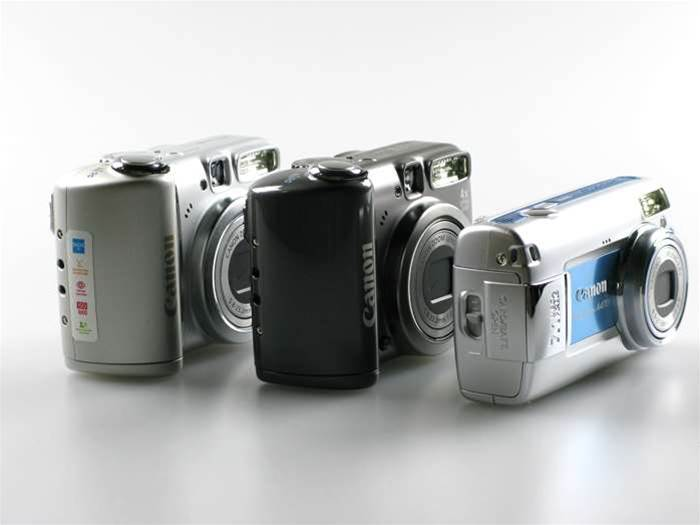 Canon PowerShot A470, A580, and A590IS