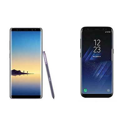 Head-to-head: Samsung Galaxy Note 8 vs Galaxy S8+