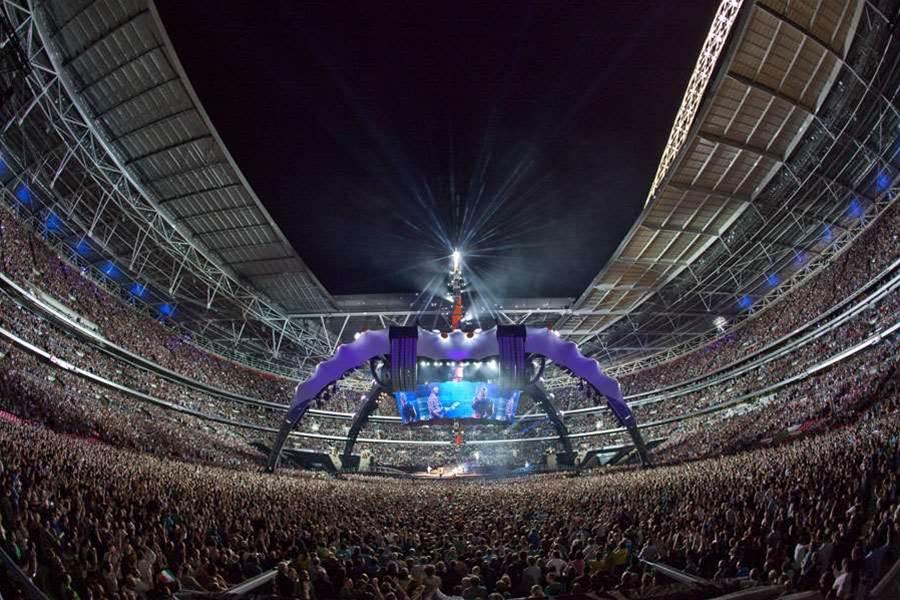 Powering U2's 360 degree tour