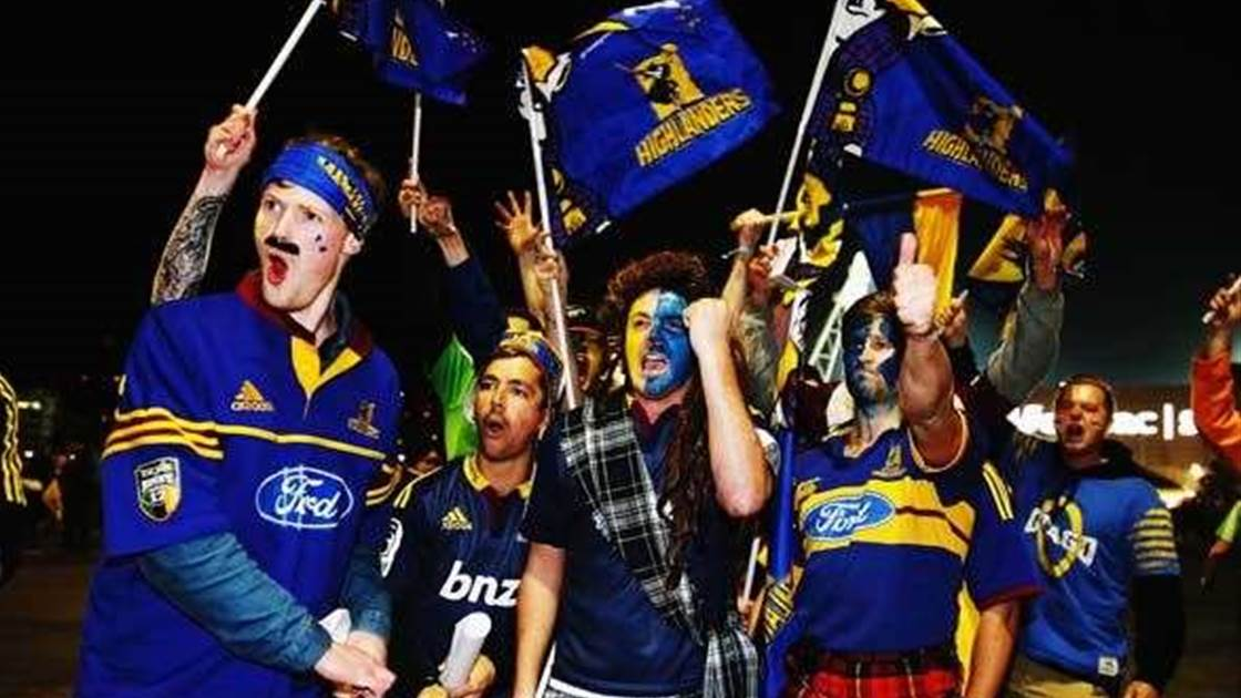 Pictorial tribute to Highlanders' maiden Super Rugby title