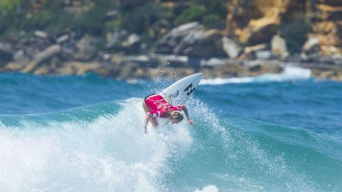 Kolohe Andino wins Australian Open of Surfing 2015