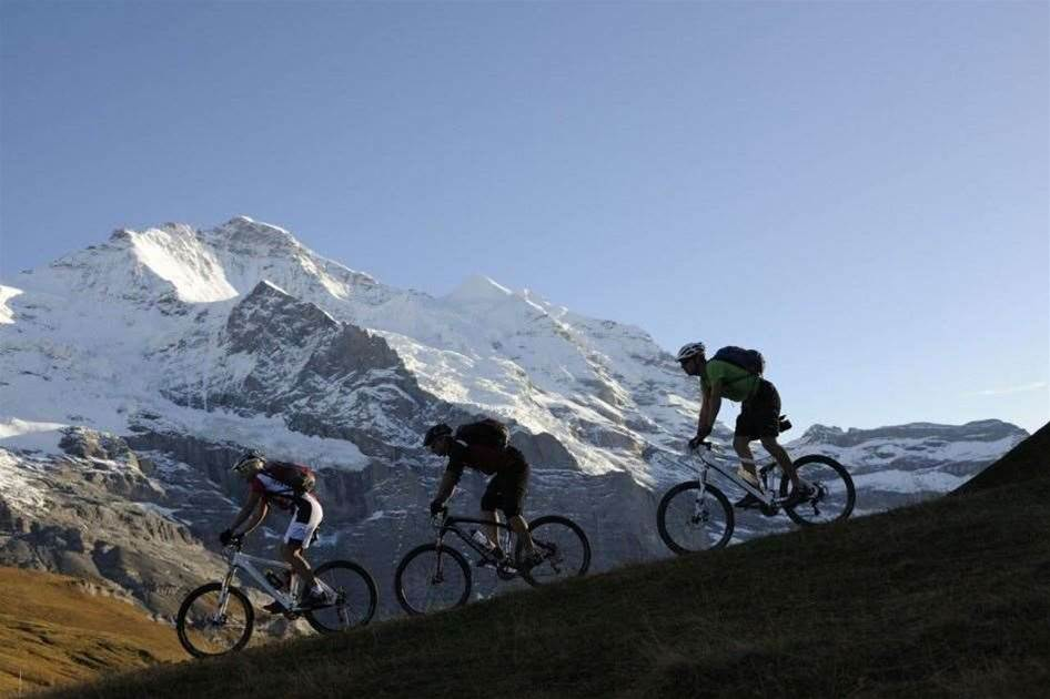 Swiss Miss: Getting dirty in Grindelwald