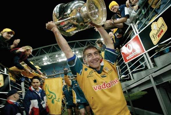 Kangaroo and Wallaby Mat Rogers pumped for World Cup