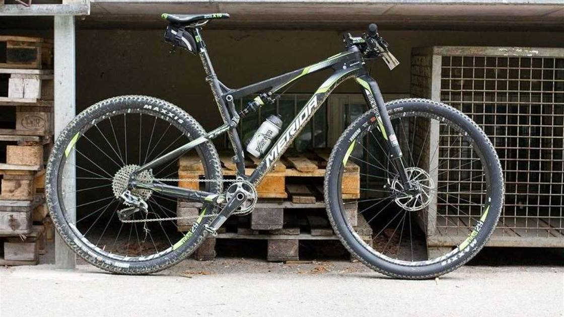 Merida unveil new Ninety Six dual suspension bike