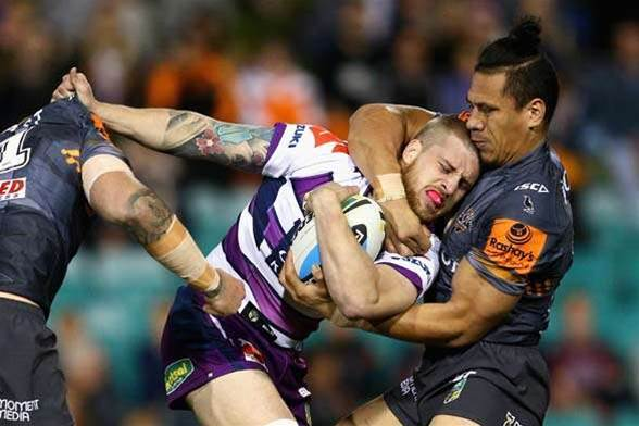 Round 21 of the NRL in pictures