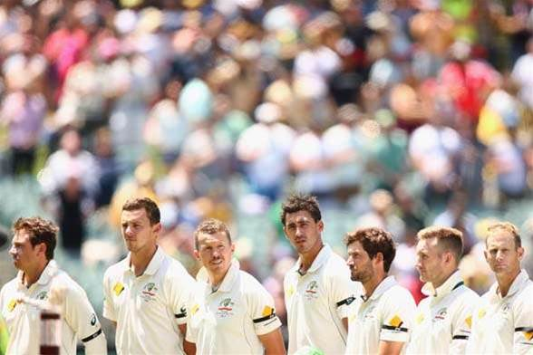 Pictorial review of the historic Pink Ball Test at Adelaide Oval