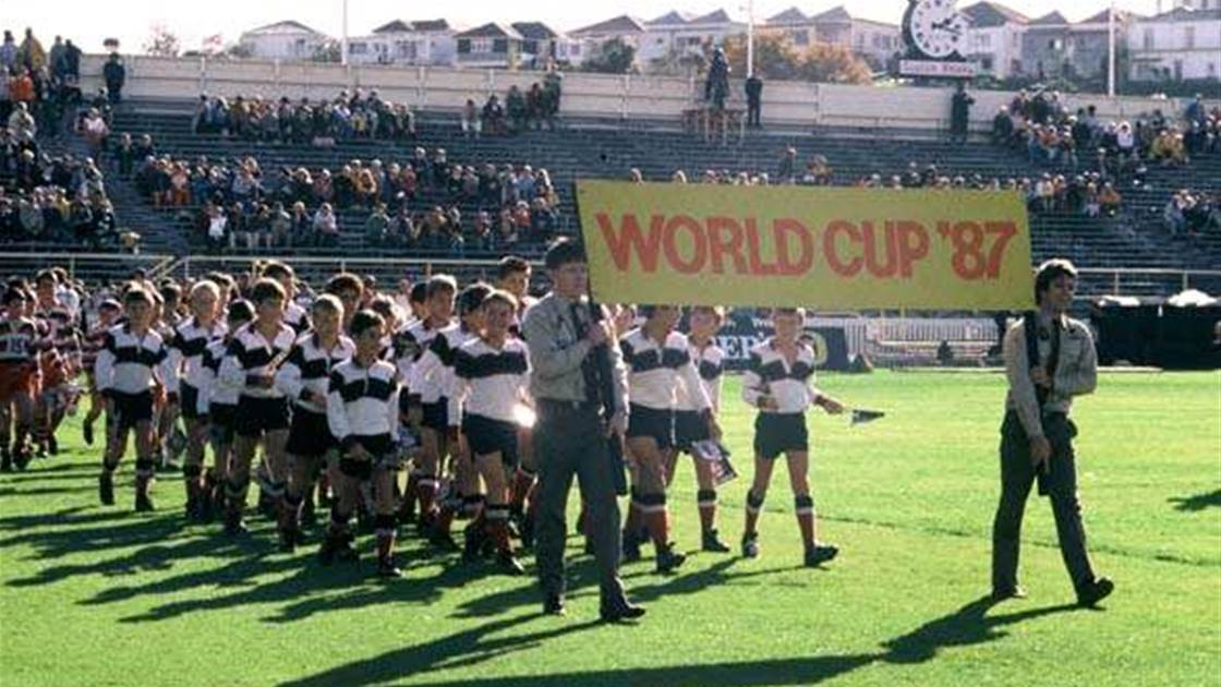 Pictorial flashback to the 1987 Rugby World Cup