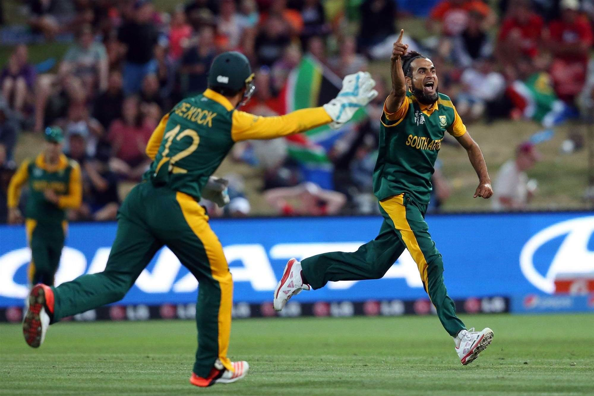 SA V ZIM: Imran Tahir … excitement machine