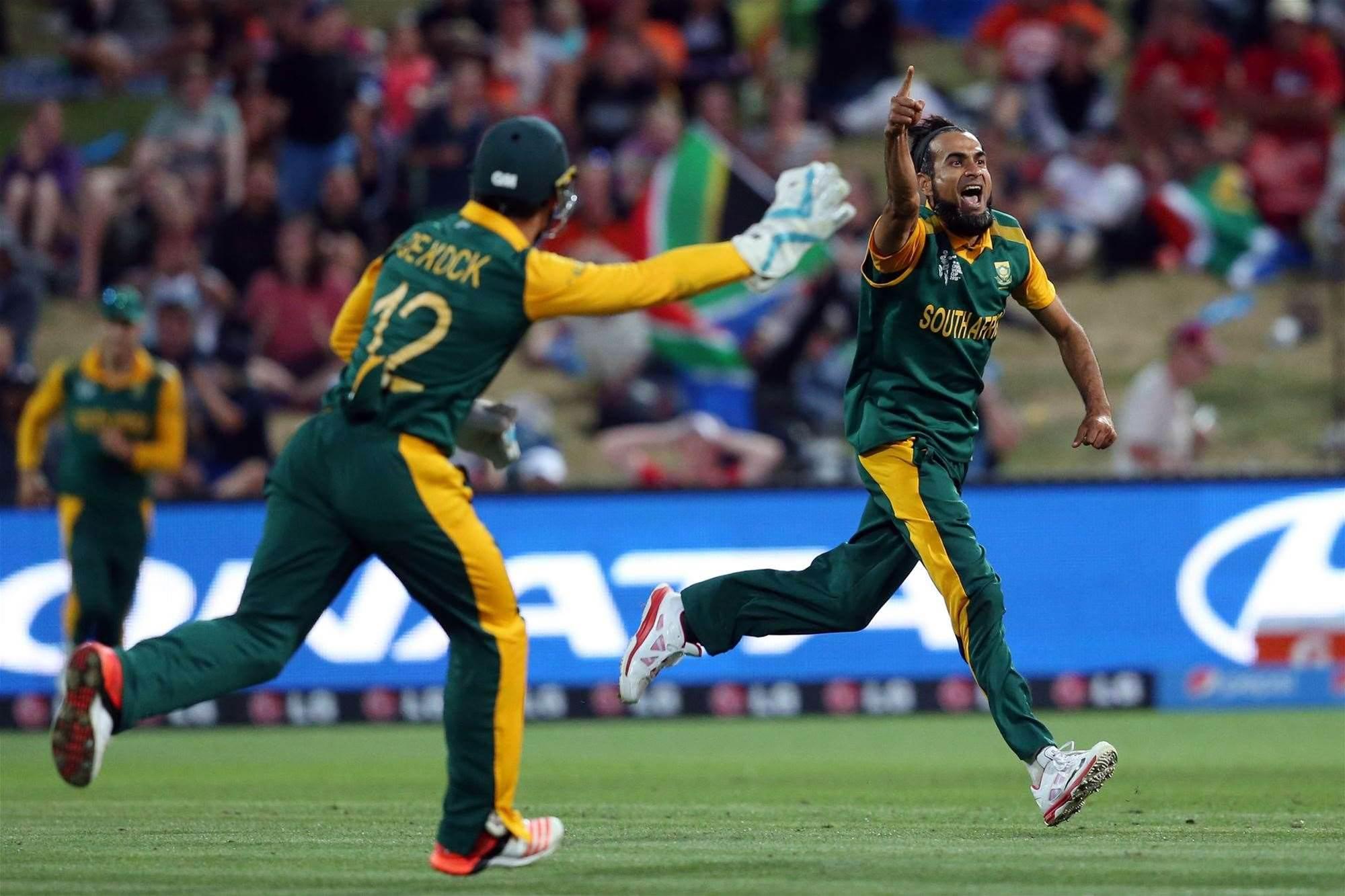 SA V ZIM: Imran Tahir … excitement machine