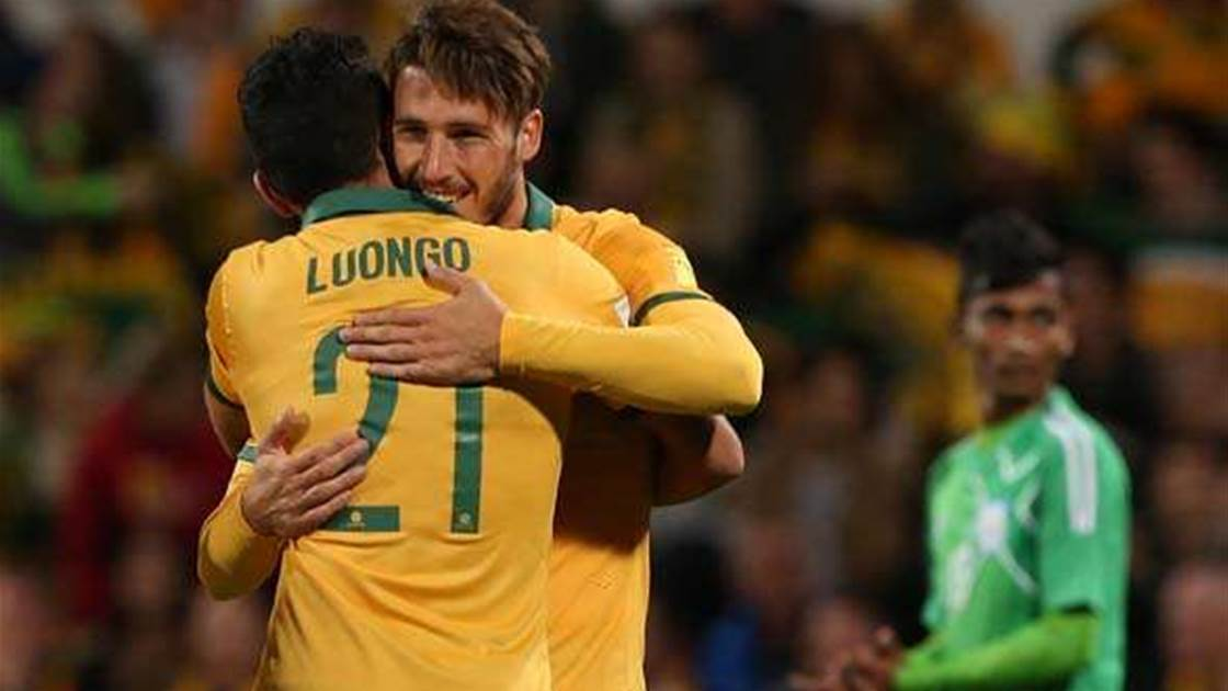 Socceroos on fire in World Cup qualification clashes