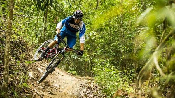 Mountain biking in Tropical North Queensland