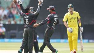 Australia thrashes UAE in World Cup warm-up