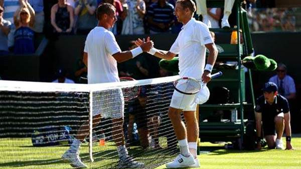 The hottest photos from a wild week one at Wimbledon