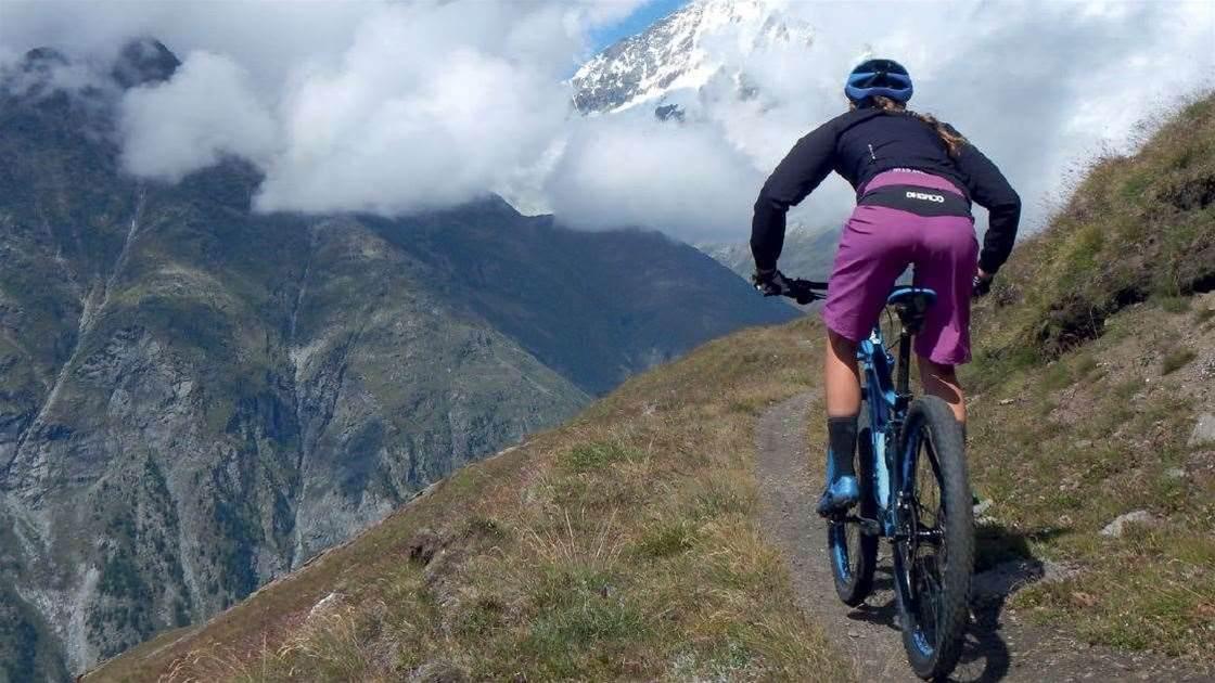 Mountain Biking in Zermatt