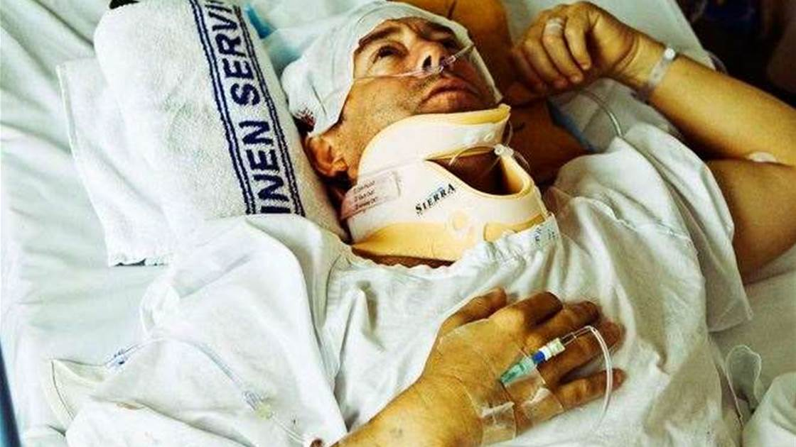Rob Bain badly injured in freak surfing accident