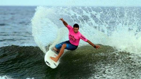 Dion Atkinson crowned number one surfer in the land