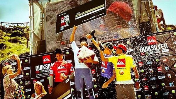 Julian Wilson Wins ASP Prime Quiksilver Pro Portugal
