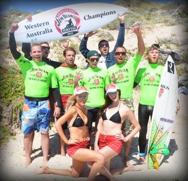 Team Trigg Point Win WA Jim Beam Surftag Title