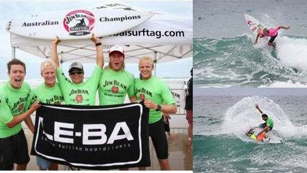 Le-Ba Win Maiden National Title at the Jim Beam Surftag