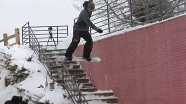 Jeremy Jones Full Part: Standing Sideways