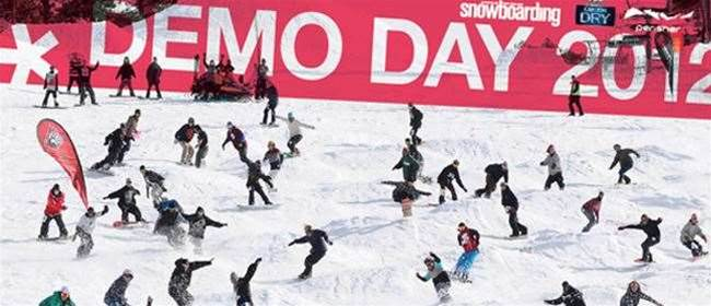 ANZ Snowboarding Demo Day 2012