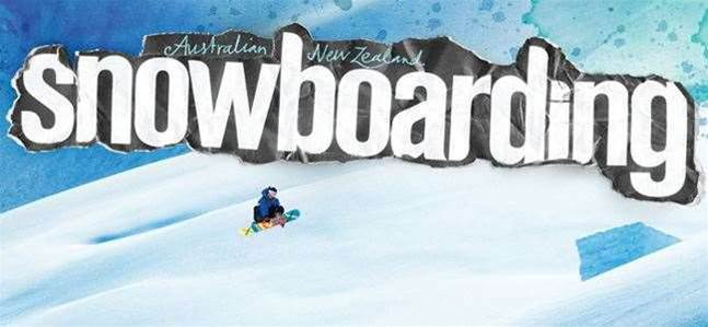 Aus/NZ Snowboarding Issue #54 - ON SALE NOW!