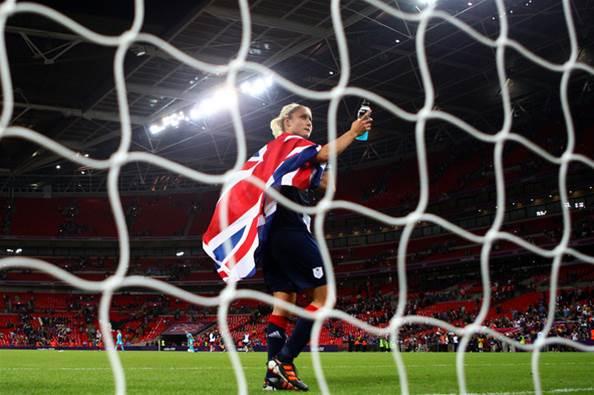 Women's football puts best foot forward