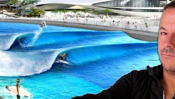 Greg Webber's Reaction to Kelly Slater Wave Park Announcement