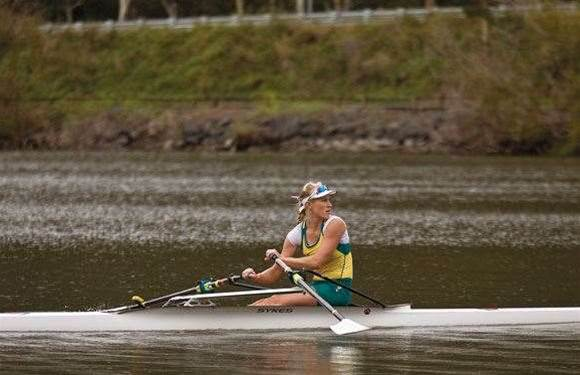 Rowing with Kim Crowe