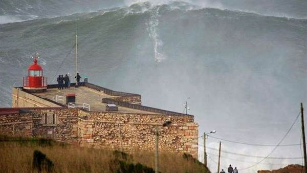 Measuring Nazaré