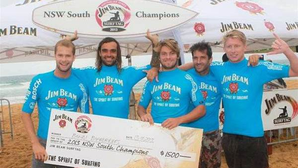 Bondi belt their way to Victory in the 2013 NSW South Jim Beam Surftag