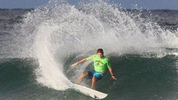 Wade Carmichael takes out the Jim Beam Boardriders Cup