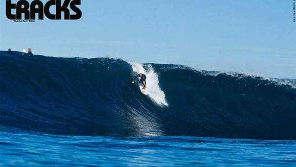 Kelly Slater at Shipsterns Bluff