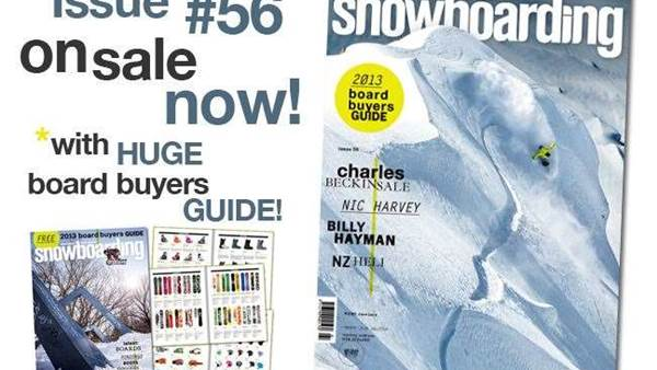 ANZ Snowboarding Mag #56 On Sale NOW!