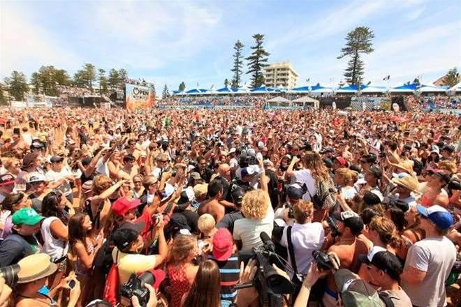 The Australian Open of Surfing Returns