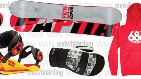 Capita / Union / 686 / Pow Gloves Prize Pack!