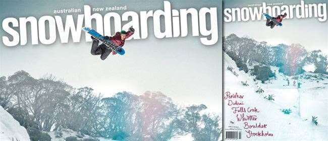 ANZ Snowboarding Mag #58 On Sale NOW!