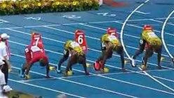 Usain Bolts to glory