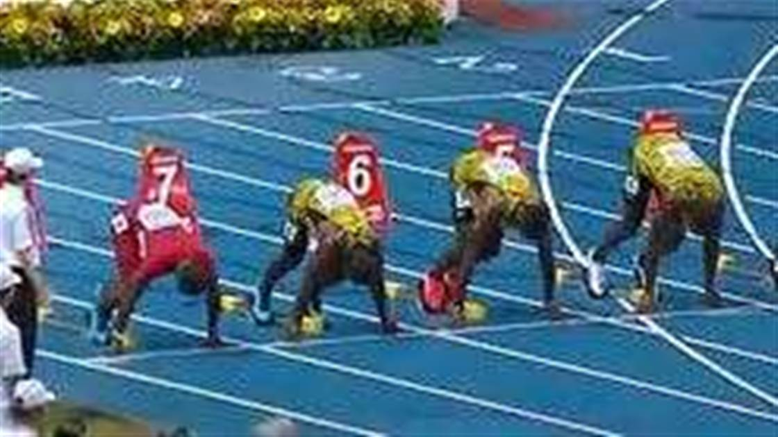 Usain Bolts to glory