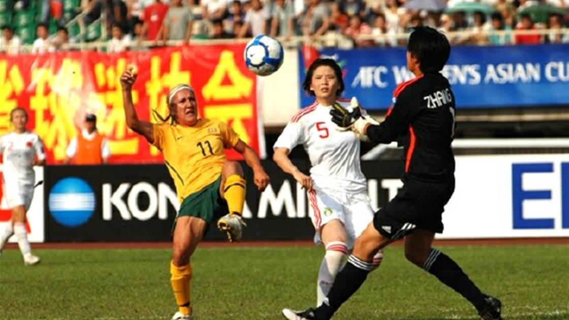 Matildas to take on China this November