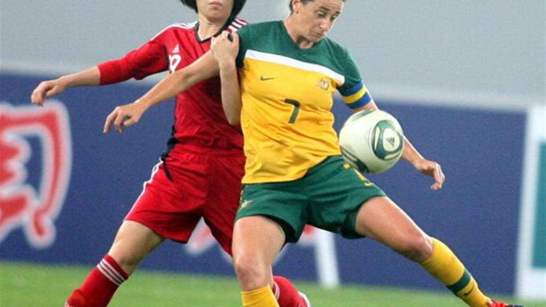 Matildas stalwart working for a return