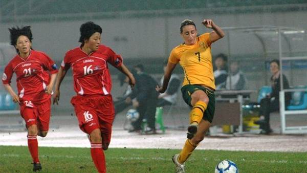DPR Korea turn the tables on Matildas