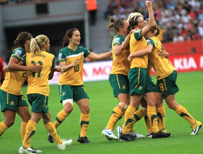 Matildas through to Quarter-Finals