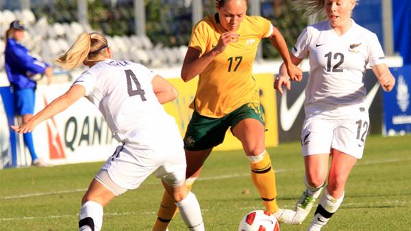 Matildas defeat Trans-Tasman rivals