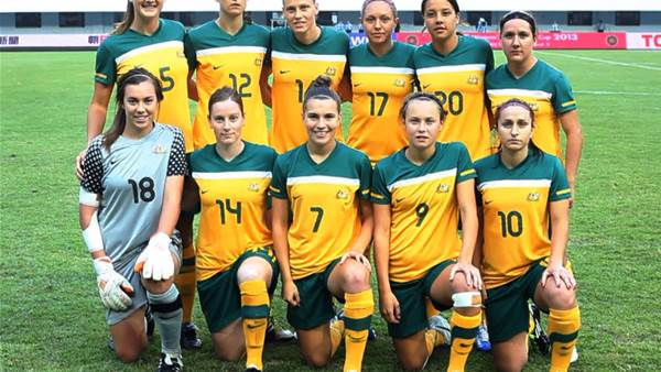 Seventh heaven for the Matildas