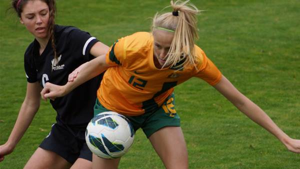 Stalemate between Young Matildas, New Zealand