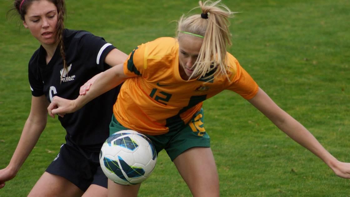 Stalemate between Young Matildas, New Zealand