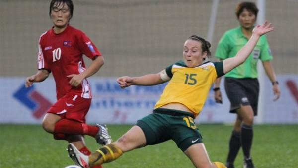 Young Matildas fall 1 - 0