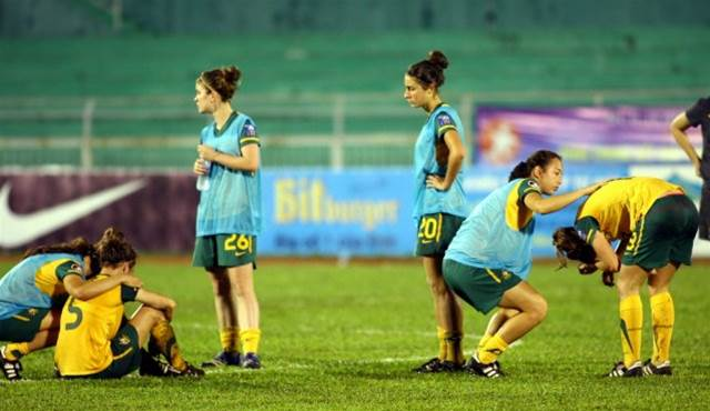 Young Matildas World Cup hopes dashed