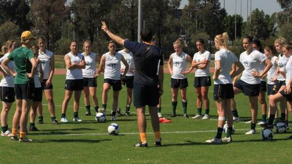 Young Matildas head into camp